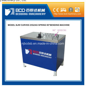 Curved Zigzag Spring Bending Machine (pedal switch control) pictures & photos