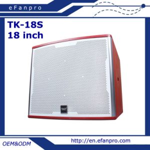 Single 18 Inch Professional Speaker Box Subwoofer (TK-18S) pictures & photos