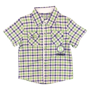 Plaid Cotton Shirt for Boy Popular Kids Clothing pictures & photos