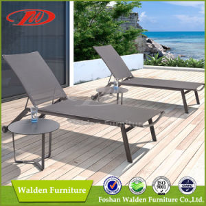 Cozy Aluminium + Sling Sun Lounger, Garden Chaise Lounge pictures & photos