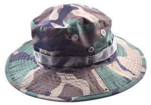 Military Camo Fisherman Camping Hunting Bucket Hat with Wide Brim pictures & photos