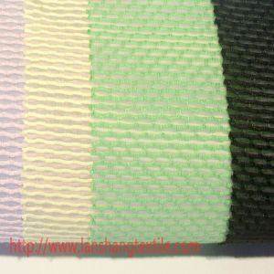 Dyed Jacquard Rayon Polyester Fabric for Woman Dress Garment Curtain pictures & photos
