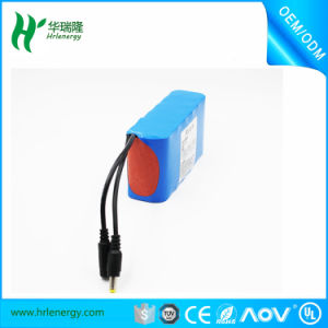 Deep Cycle 6600mAh 11.1V Li Ion Battery Pack pictures & photos