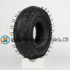 Pneumatic Rubber Wheel Used on Hand Truck Wheel (3.50-4) pictures & photos