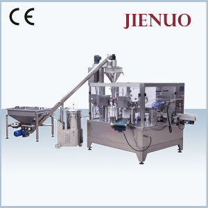 Automatic Rotary Granule Doypack Price Tea Bag Packing Machine pictures & photos