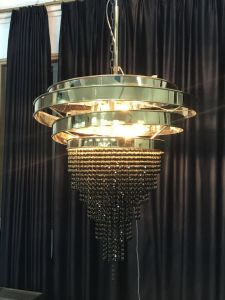 Project Stainless Steel Black Color K9 Crystal Chandelier (KA00222) pictures & photos