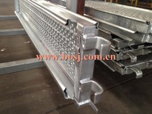 Traction Tread Flooring Steel Plank Deck Metal Plank Roll Forming Production Machine Manufacturer Malaysia pictures & photos