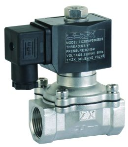 SZX20-15 1/2inch 2/2way Normally Closed Diaphragm Stainless Steel Solenoid Vlave pictures & photos