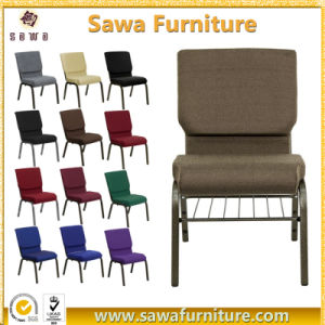 Competitive Factory Price Stackable Interlocking Auditorium Church Chairs pictures & photos