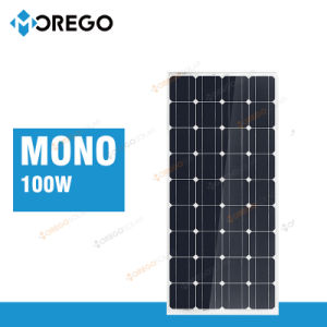 Moregosolar Mg Series Mono 12V 100W Solar Panel Manufacturers in China pictures & photos