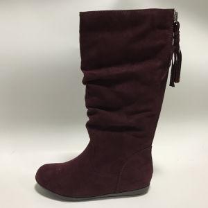 New Arrival Tassel Design Women Shoes Winter Boots with Zipper