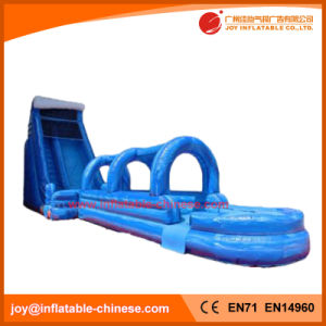 2017 PVC Tarpaulin Giant Inflatable Super Water Slip N Slide (T11-092) pictures & photos