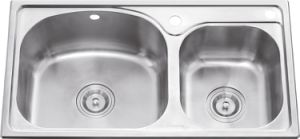 L5601 S. S Stretching Double Bowl Sink pictures & photos