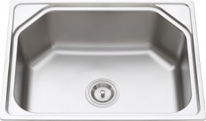 L5308 Stainless Steel Pressing Single Bowl Sink pictures & photos