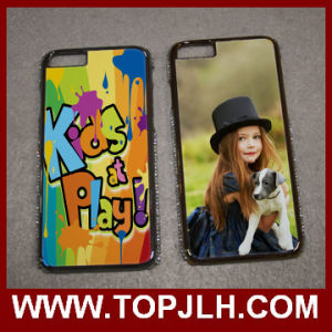 Sublimation 2D PC with Diamond Phone Case for iPhone 6 Plus pictures & photos