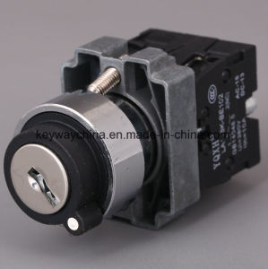 22mm Metal Type Push Button Switch with Key pictures & photos