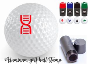 Six Colours Customized Golf Ball Stamps pictures & photos