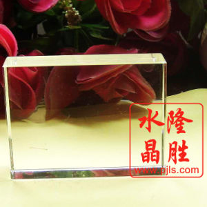 Crystal Glass Blank 3D Laser Engraving Cube for Art pictures & photos