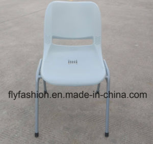 Public White Plastic Chair Stackable Chair pictures & photos