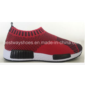 Hot Sale Slip on Children Shoes in Flyknit pictures & photos