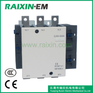 Raixin New Type Cjx2-D205 AC Contactor 3p AC-3 380V 110kw pictures & photos