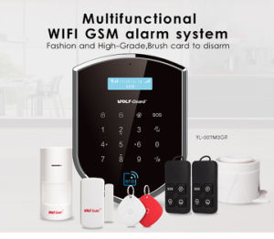 Wolf-Guard GSM+WiFi Home Security Alarm System & Alarm System GSM with APP by IP Based with 2g /3G Network pictures & photos