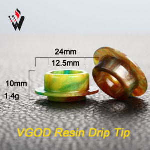 Vivismoke Epoxy Resin Drip Tip for Vogd Epoxy Resin Material Drip Tip Vgod pictures & photos