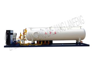 LPG Skid Mounted Tank pictures & photos