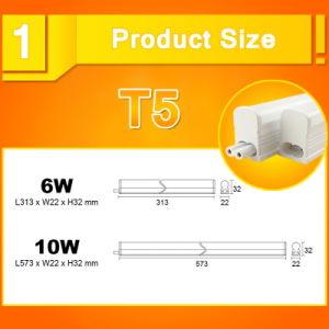 LED Tube T5 Light 220V 240V 6W/10W LED pictures & photos