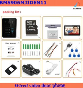 2017 Hot Sale 9′inch Video Doorbell for House Security pictures & photos