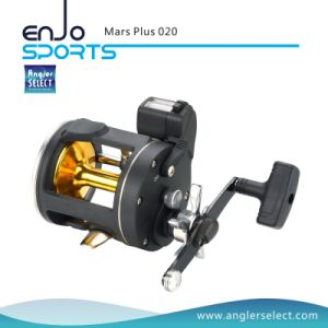 Mars Plus Plastic Body 2+1 Bearing Right Handle Sea Fishing Trolling Reel Fishing Tackle pictures & photos