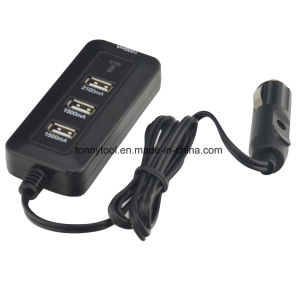 12V Four USB Charger Port pictures & photos