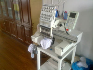 Home-Based Single Head Embroidery Machine pictures & photos