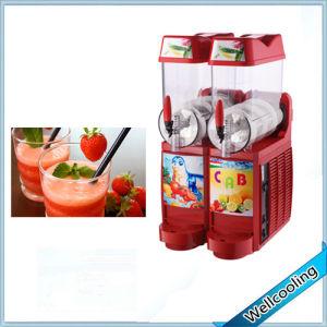 Hot Sell 2 Tanks Cold Slush Juice Smoothie Slushie Machine pictures & photos