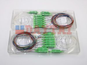 12 Standard Color 1X8 Optical Fiber PLC Splitter pictures & photos