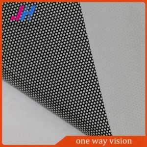 Removable Clear Adhesive Film PVC One Way Vision Vinyl pictures & photos