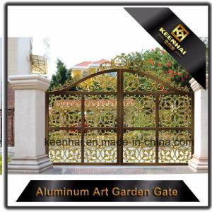 Decorative Color Power Coated Metal Cast Aluminum Garden Gate pictures & photos