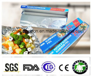 Clean and Odourless 8011 O Temper 0.011*305mm Aluminum Foil Roll pictures & photos