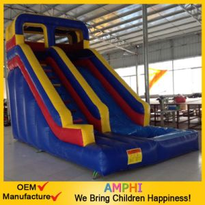 Hot Sell Giant PVC Inflatable Dry Slide for Commercial Use