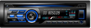 Single DIN Fixed Panel Car DVD VCD for Music Player 607 pictures & photos