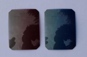 Sunglass Polarized Tac Lens Optical Lens Light Blue Gradual pictures & photos