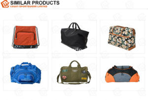 High Quality PU Leather Travelling Duffel Weekender Luggage Bag pictures & photos