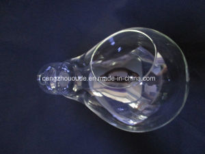 Creative Bulb Shape Glass Crystal Vase pictures & photos