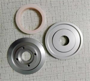 Customized Ceramic Coating Aluminum Idler Pulley D60*D22*H13mm for Wire&Cable Industries pictures & photos