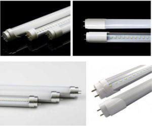 2017 UL Dlc Compatible LED Tube 18W 140lm/W Glass LED Tube, Type a+B 4FT 18W LED Tube Light with Internal Driver 5years Warranty pictures & photos