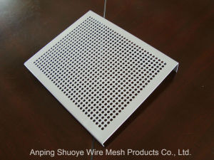 Corrugated Aluminum Perforated Metal Punched Mesh Sheet Plate pictures & photos