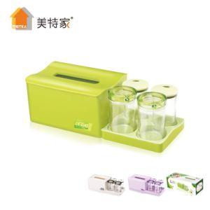 6469 Metka Household Kitchen Cruet Vinegar & Sauce Bottle Tissue Box 4 Cans pictures & photos