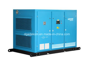 Screw Industrial Two Stage Lubricated Oil Air Compressor (KE110-8II) pictures & photos