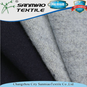Indigo Sanding French Terry Fabric for Dresses pictures & photos