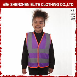 Wholesale High Visibility Yellow Children Reflective Safety Vest pictures & photos